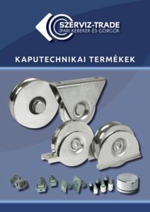 Szerviz-Trade Kaputechnikai termékek katalógus